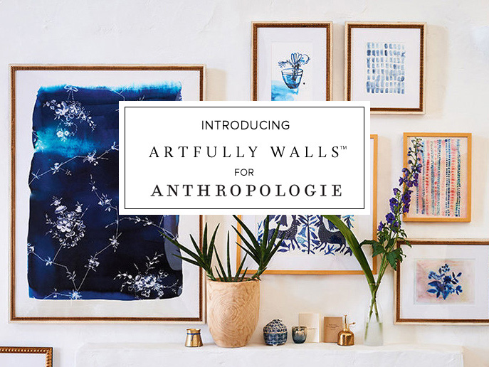 ARTFULLY WALLS FOR ANTHROPOLOGIE