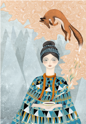 Mother Winter By Isabelle Stolar Artfully Walls