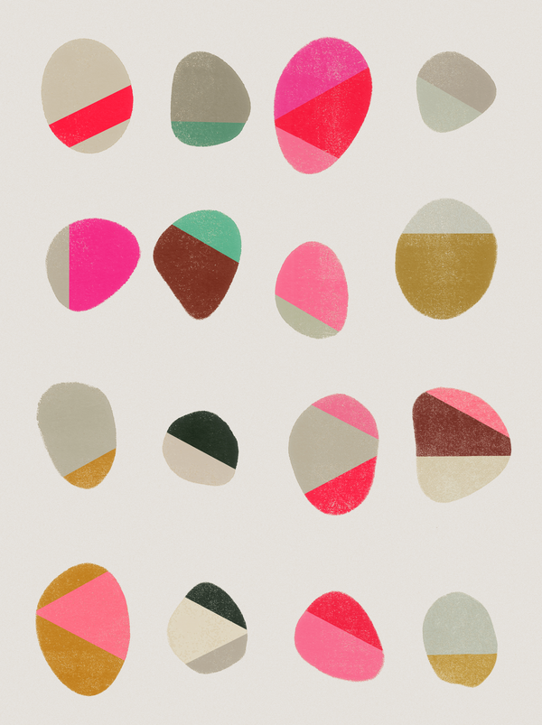Painted Pebbles 1