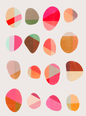 Painted Pebbles 5