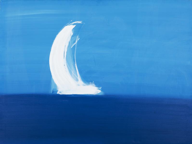 Sea and A Sail Boat II