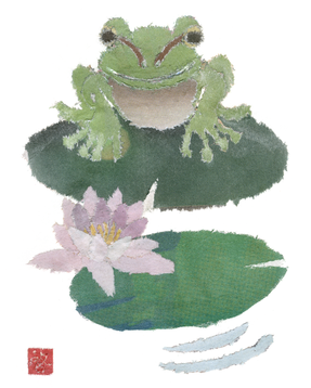 Froggy On Lilypad