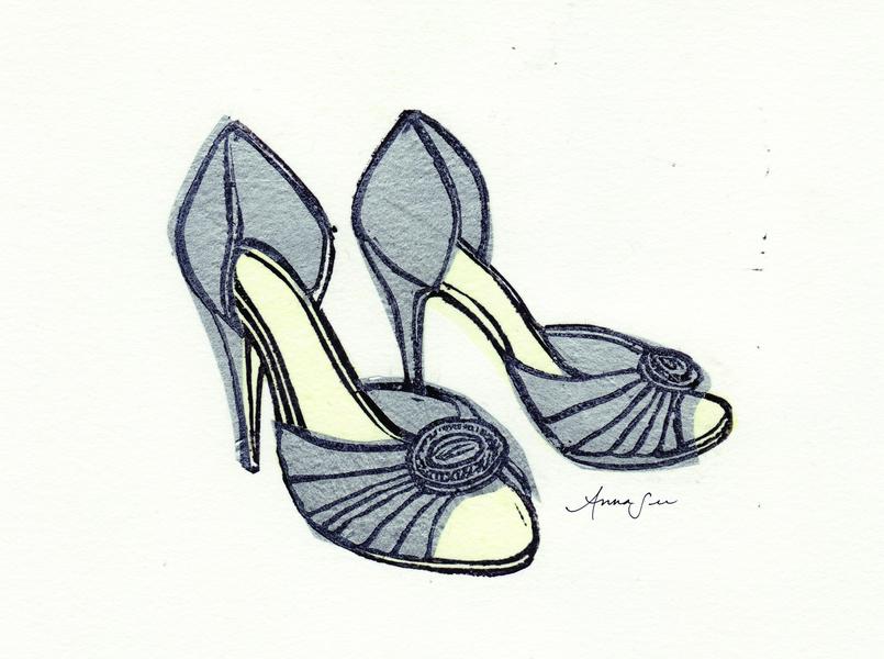 Manolo Blahnik D'Orsay Shoes