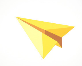 Paper Planes (Yellow)