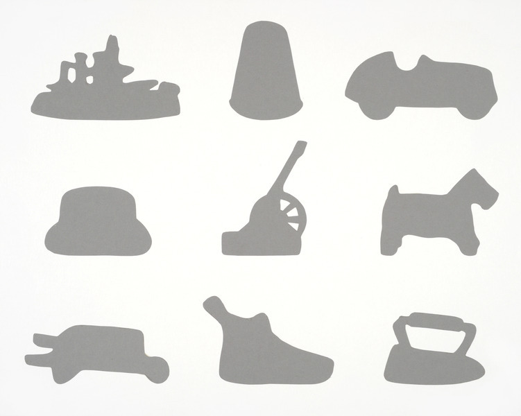 Playful image for game pieces printable