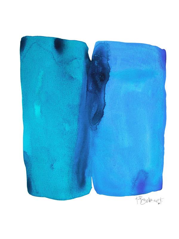 Blue Raspberry Melted Icecream By Kate Roebuck Artfully
