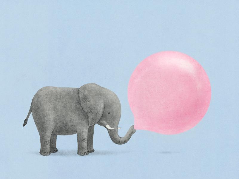 Jumbo Bubble Gum