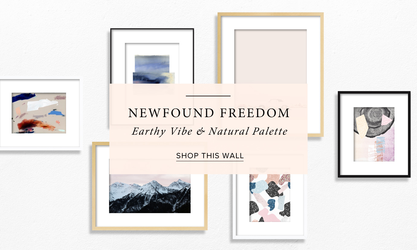 Newfound Freedom Gallery Walls