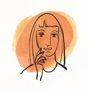 Margaret in Orange