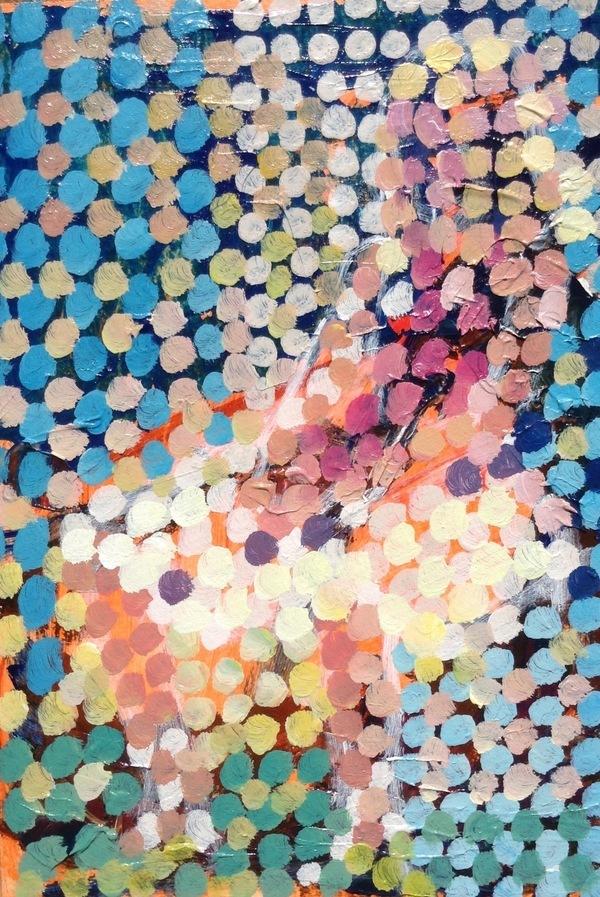 Girl sitting by Joseph Mahon | Artfully Walls