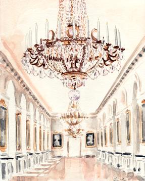 Chandelier Petit Trianon