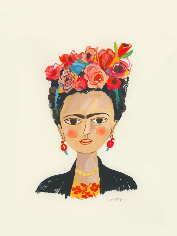 Frida By Carolyn Gavin Artfully Walls