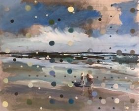Beach Scene from memory