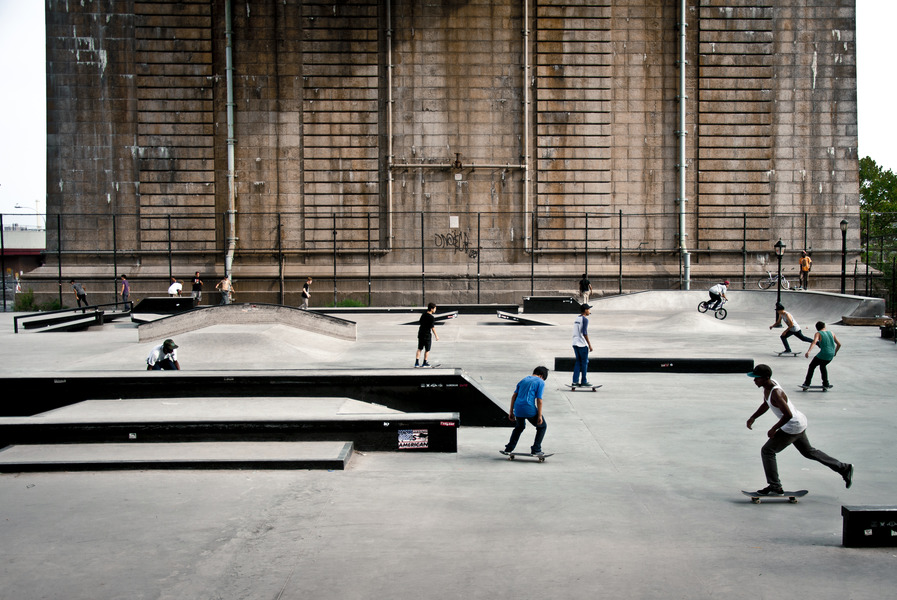 Boys on Skates