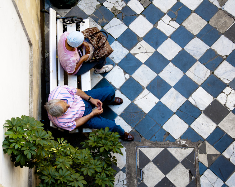 Checkered Floor in Buenos Aires