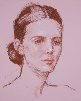 Portrait Study in Pink