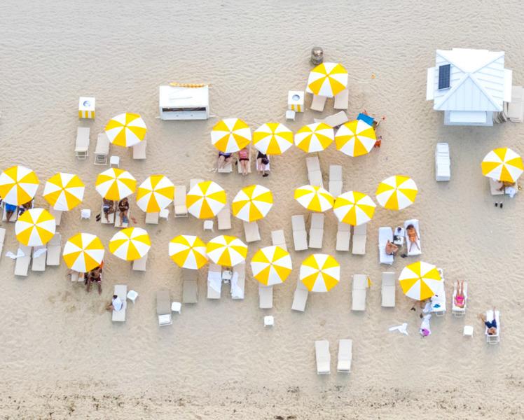 Yellow Umbrellas II