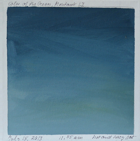 Blue Painting 6