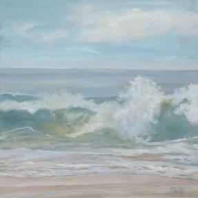 Soft Aqua Wave