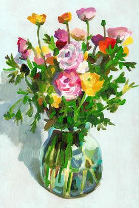 A Vase of Florals