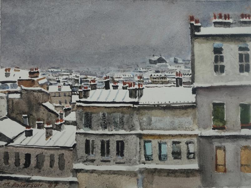 Montmartre in Snow