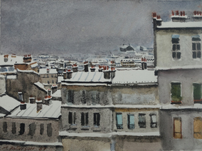 Montmartre in Snow