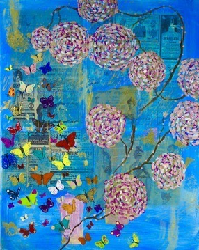 Azure Butterfly Garden