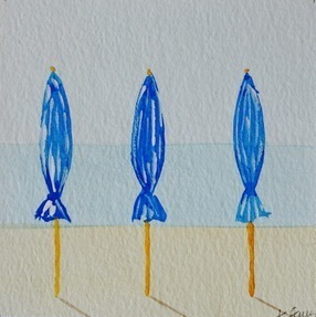 Blues (Beach Umbrella Series)