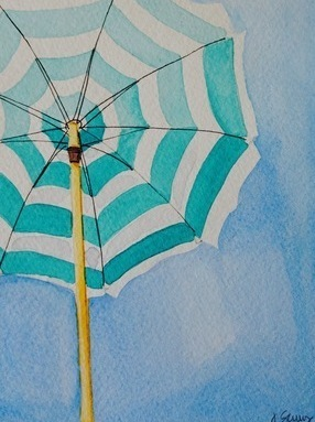 Stripes (Beach Umbrella Series)