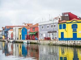 Aveiro Canals Portugal