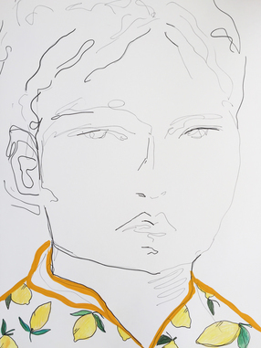 Boy in Lemon Shirt
