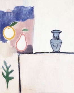 Vase and Two Fruits