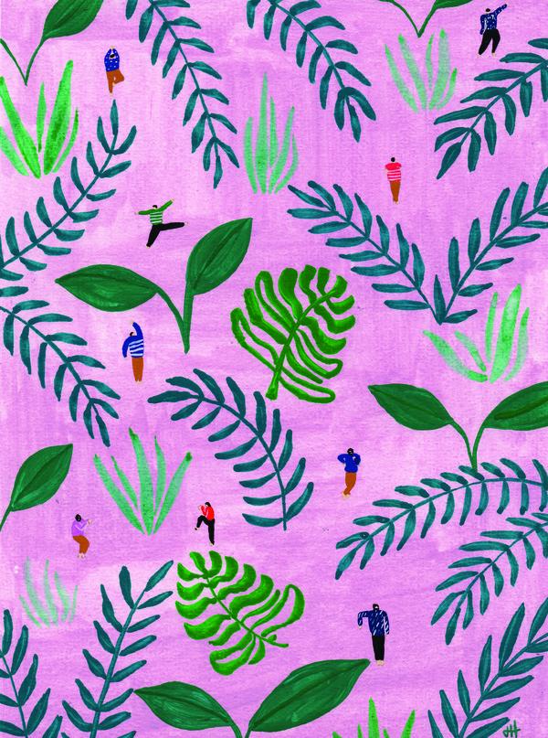 Pink Jungle