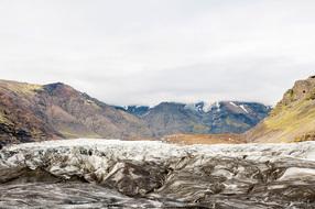 Breiðamerkurjökull Glacier Field