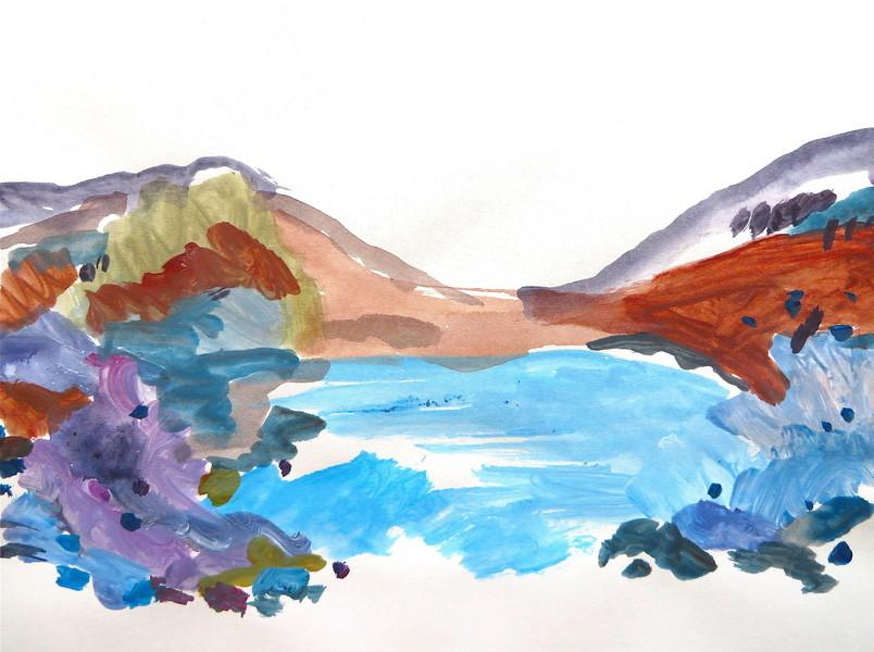 Western Landscape Series 4