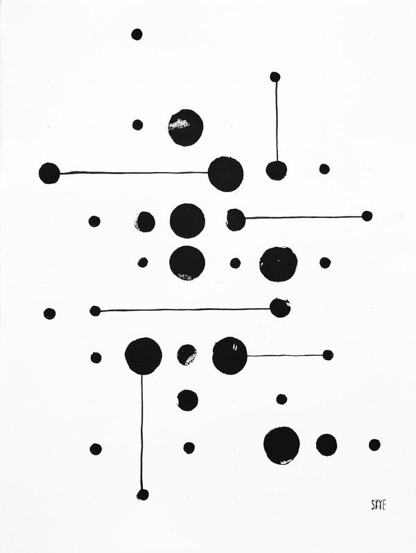 34 Dots 6 Lines