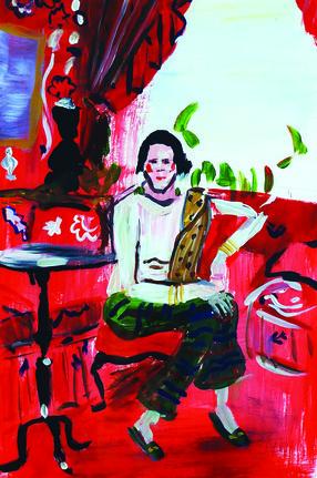Diana Vreeland By Marine De Qu 233 Netain Artfully Walls