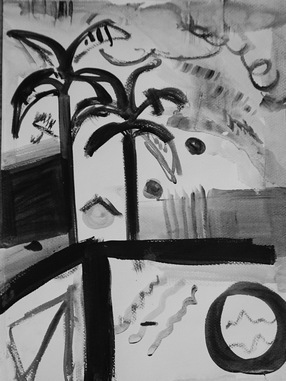 Poolside Palms