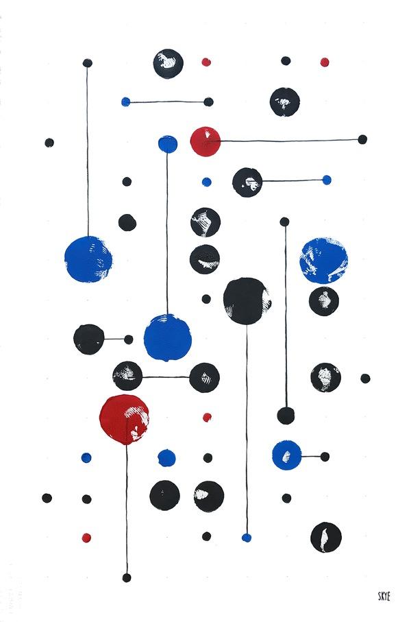 33 black 6 red 11 blue