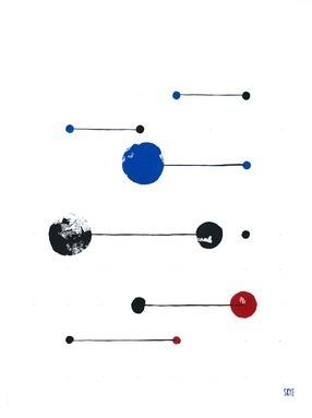 7 black 4 blue 2 red