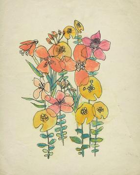 Contour Flowers