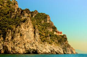 Amalfi Coast Red House