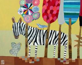 Traverling Zebra